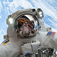 Astronaut Mike Hopkins on Dec