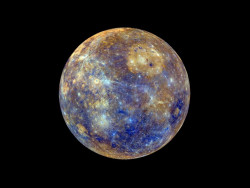 Color View of Mercury from Messenger Images