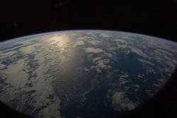 Earth from Space over Indian Ocean