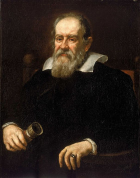 "Justus Sustermans Portrait of Galileo Galilei 1636. As all the Galileo, was an Italian physicist, mathematician, engineer, astronomer, and philosopher who played a major role in the scientific revolution during the Renaissance. His achievements include improvements to the telescope and consequent astronomical observations and support for Copernicanism. Galileo has been called the ""father of modern observational astronomy"", the ""father of modern physics"", the ""father of science"", and ""the father of modern science""."